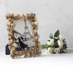 Sandra Golden Leaves Photo Frame