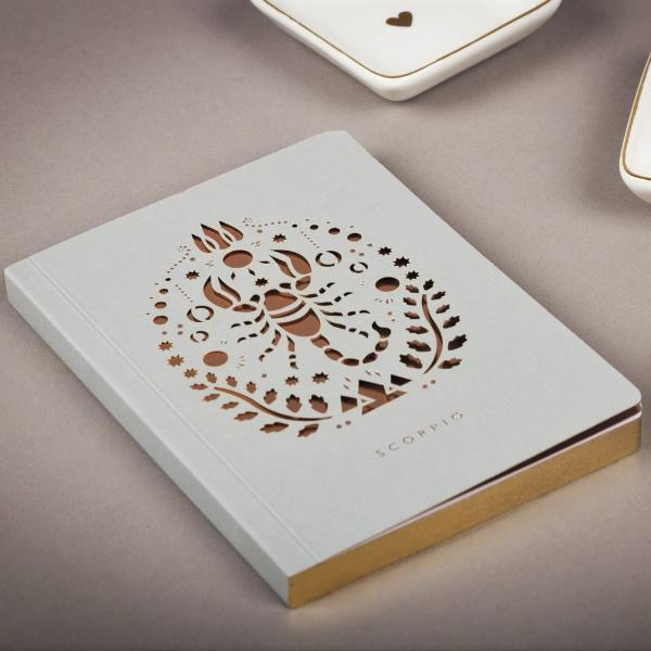 Scorpio Zodiac Mini Notebook
