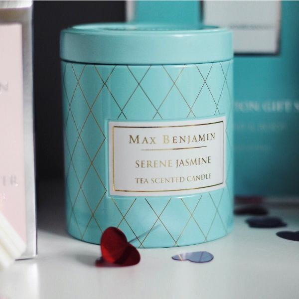 Serene Jasmine Scented Tin Candle