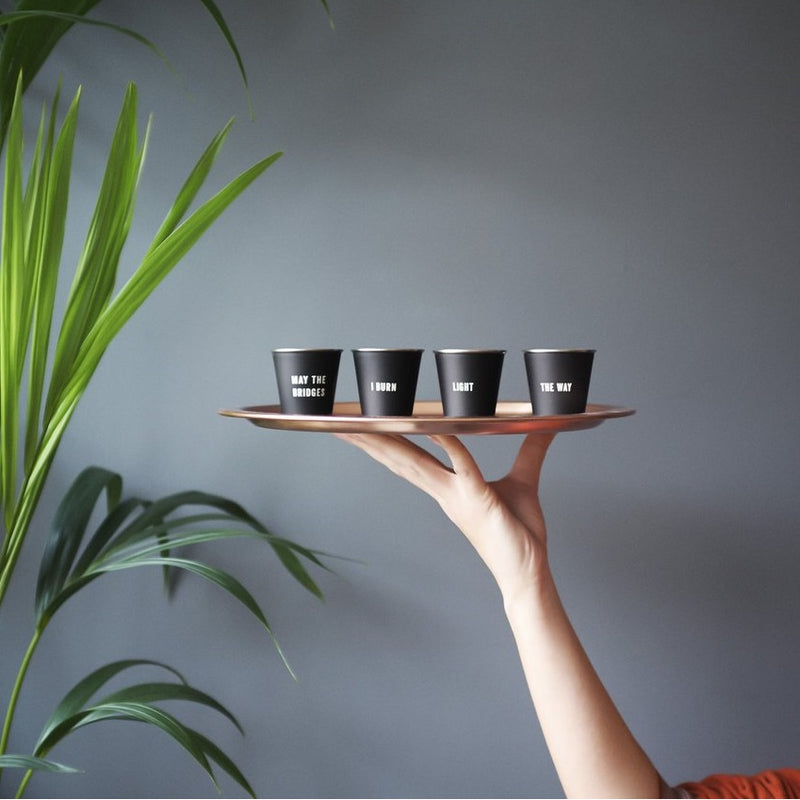 Shot Glasses, Set of 4 - Bridges