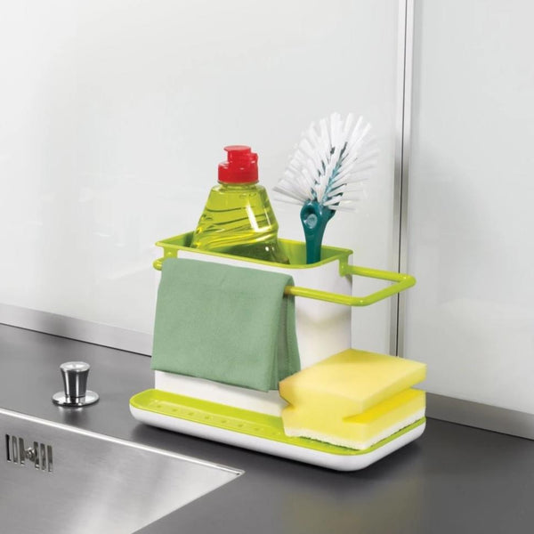 Kitchen Sink Caddy - White Green