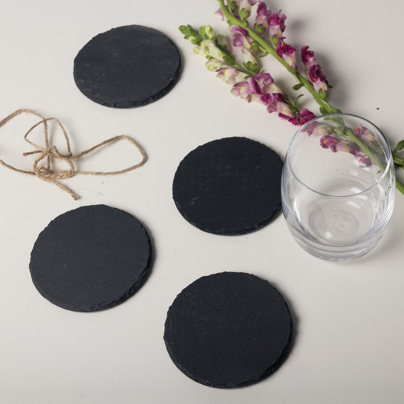 Slate Coasters - Set of 4