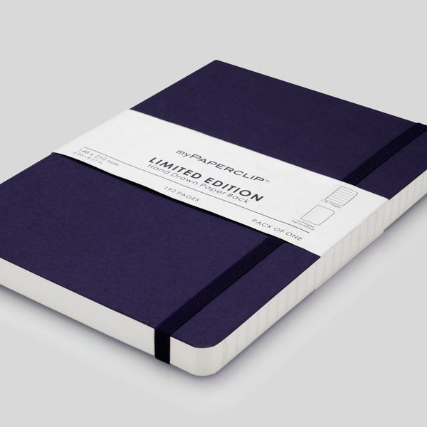 Softcover Notebook, Limited Edition - Aubergine