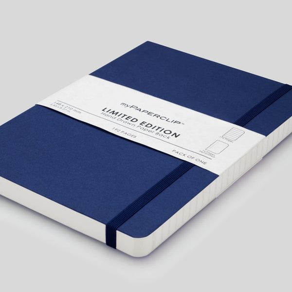 Softcover Notebook, Limited Edition - Blueberry