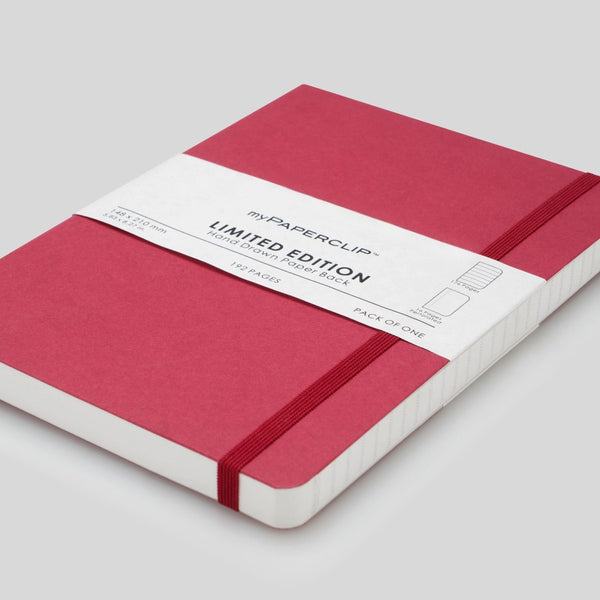 Softcover Notebook, Limited Edition - Raspberry