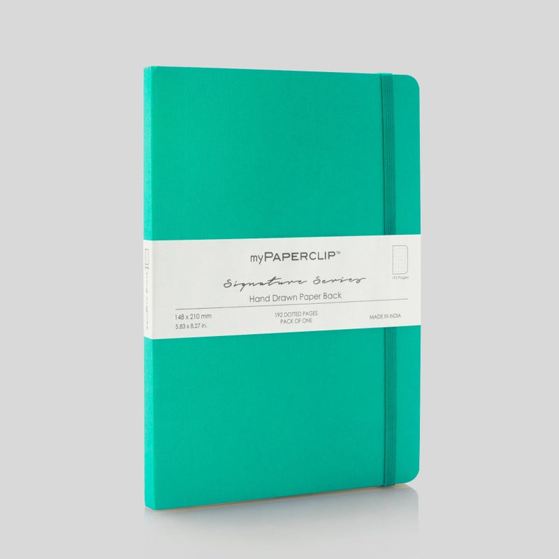 Softcover Notebook, Signature Series - Sea Green