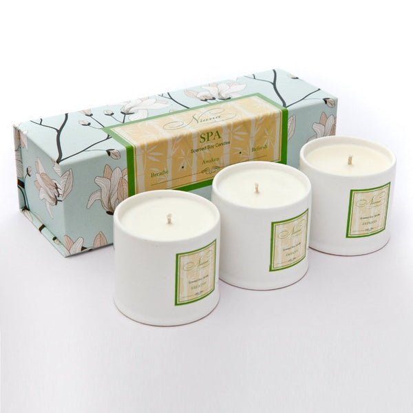 Spa Collection - Set of 3 Candles
