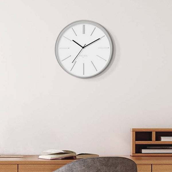 Sci-Fi Sid Wall Clock - White