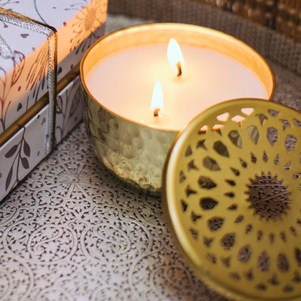 Sparkle Scented Candle - Sandalwood