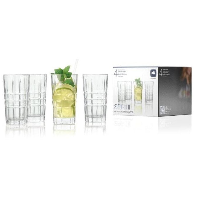 Spiritii Long Drink Tumblers, Set of 4