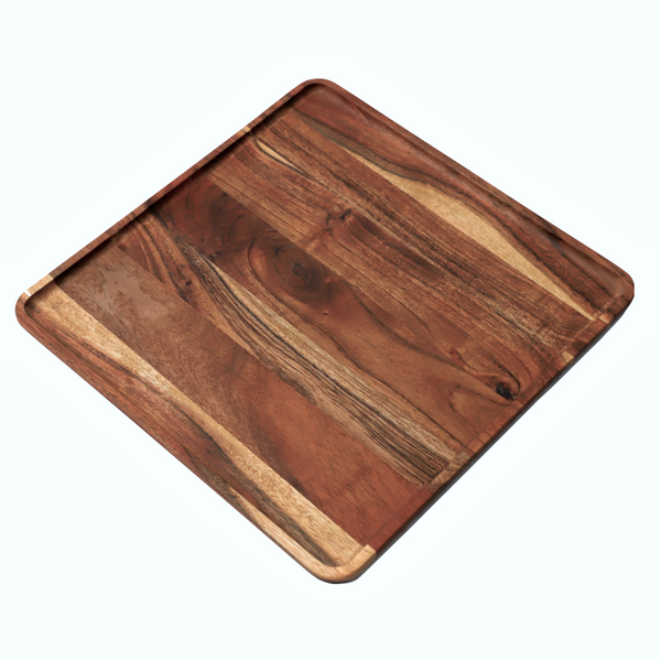 Creek Wooden Square Platter