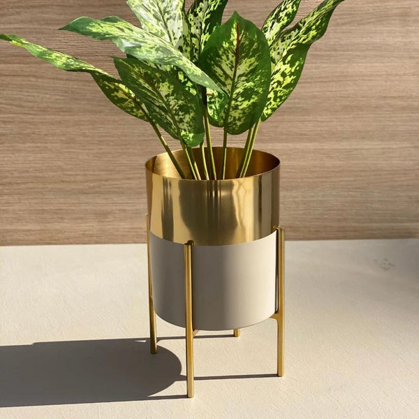 Tampa Planter - Grey Gold