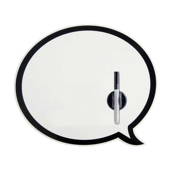 Talking Bubbles Magnetic Board with Marker
