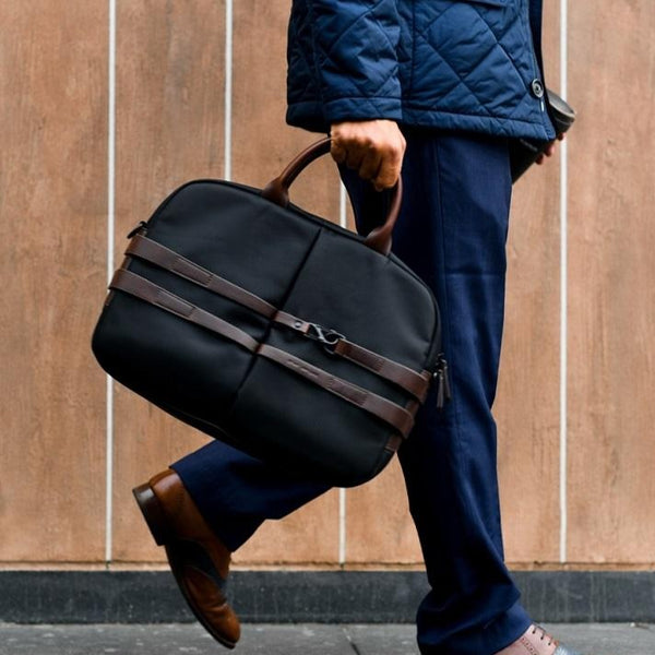 The Fortunate Laptop Bag 2.0 - Jet Black