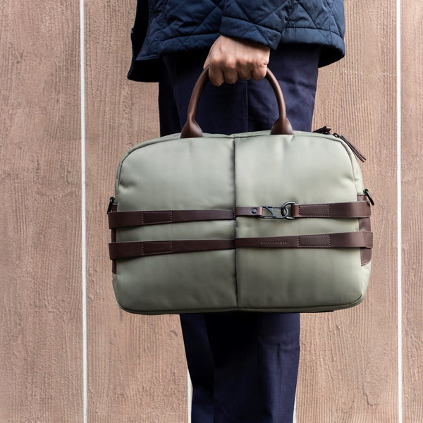 The Fortunate Laptop Bag 2.0 - Matt Grey