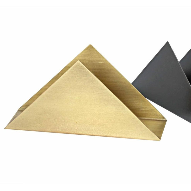 Triangle Napkin Holder - Antique Brass