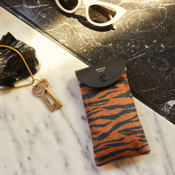 Tiger Sunglasses Case