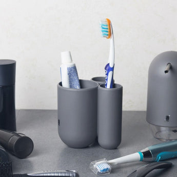 Touch Toothbrush Holder - Grey