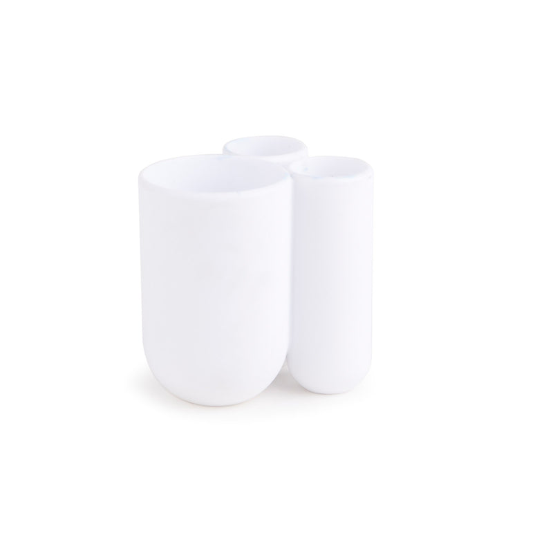 Touch Toothbrush Holder - White