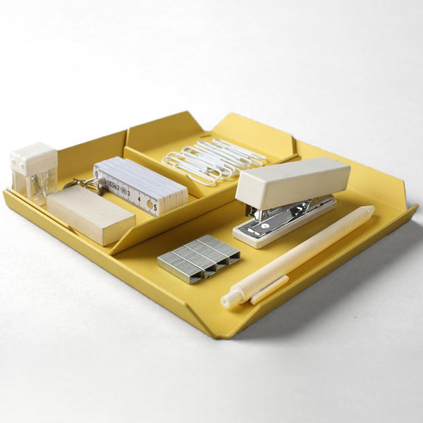 Treyo Desk Organizer - Mellow Yellow