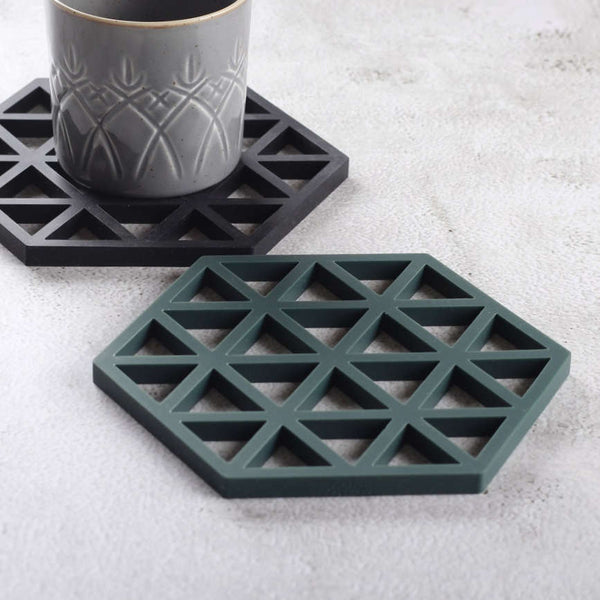Triangles Trivet - Cactus