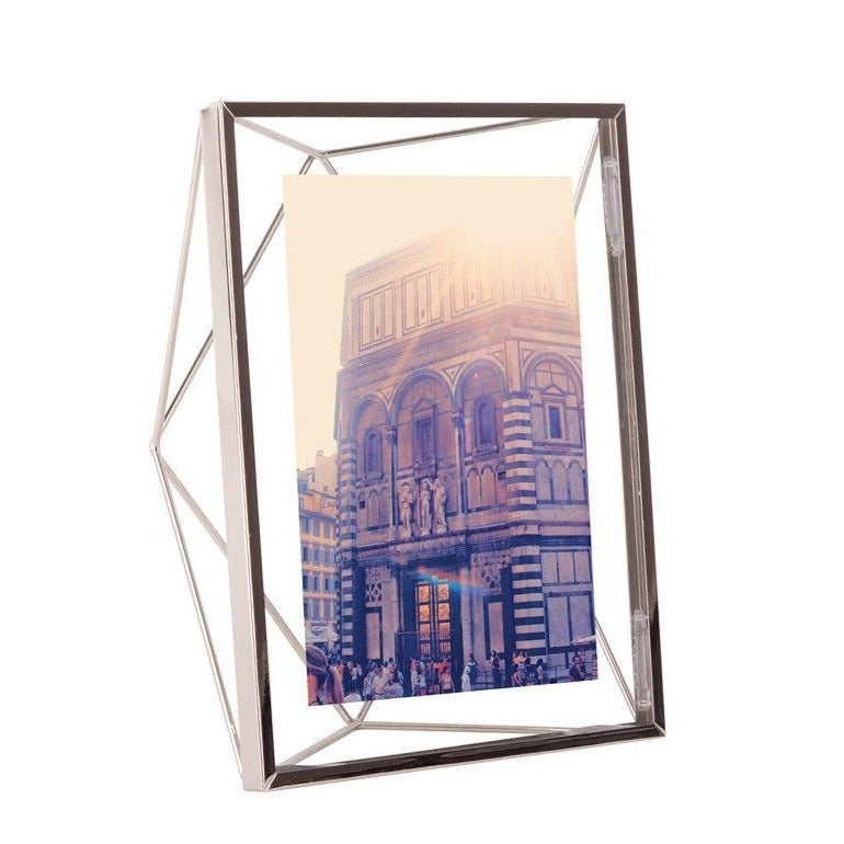 Prisma Photo Frame - Chrome 5x7