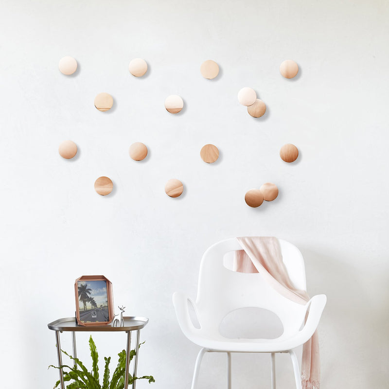 Confetti Dots Wall Display - Copper