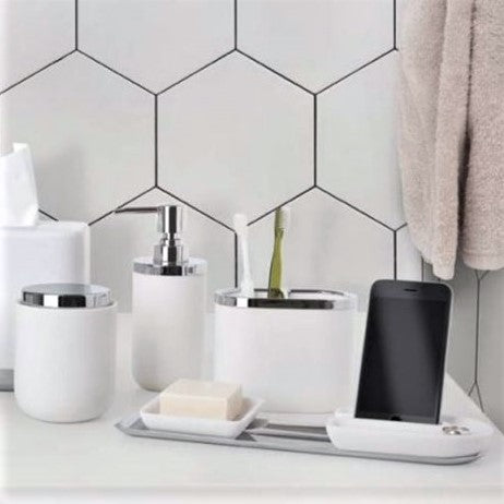 Junip Toothbrush Holder - White