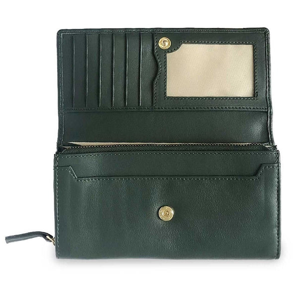 Vault Wallet - Forest Green