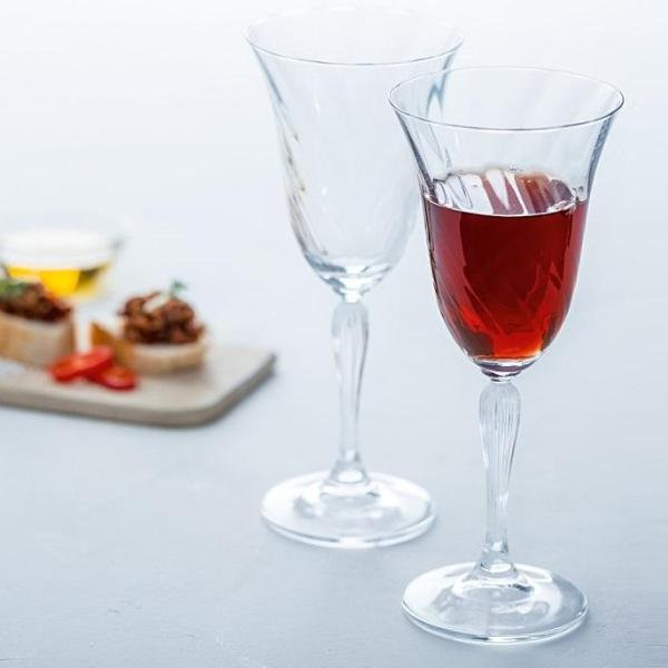 Volterra Red Wine Glasses, Set of 6