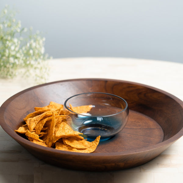 Wooden Chip and Dip Set
