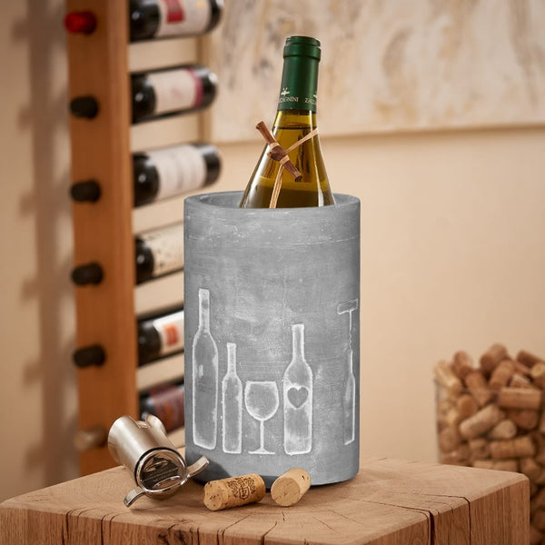 Concrete Wine Cooler - Vino Bottles