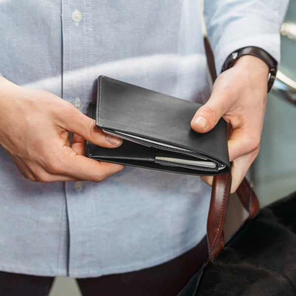 Travel Wallet - Black RFID