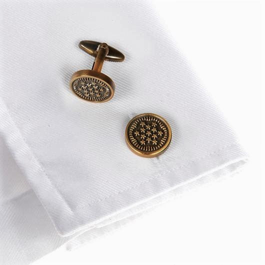 Wimbledon Cufflinks - WWII Military