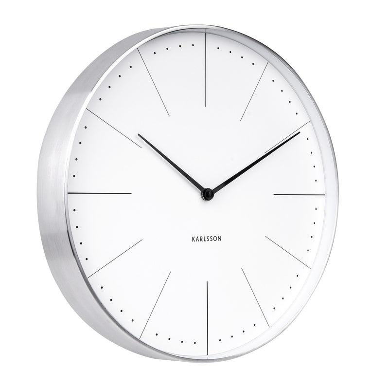 Normann Wall Clock Large - White