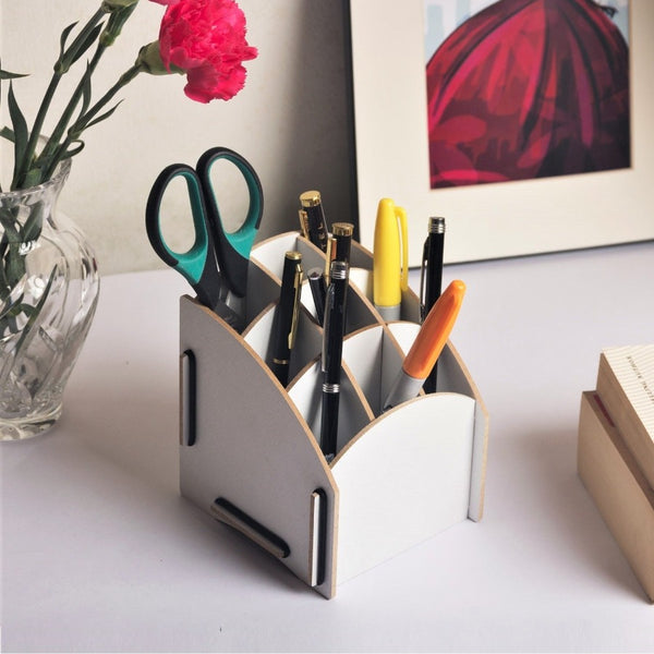 Pen Holder - White Tower