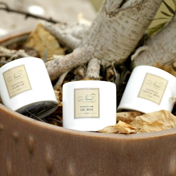 Woody Collection - Set of 3 Candles