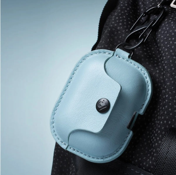 AirSnap Leather Case for Airpods Pro - Slate Blue