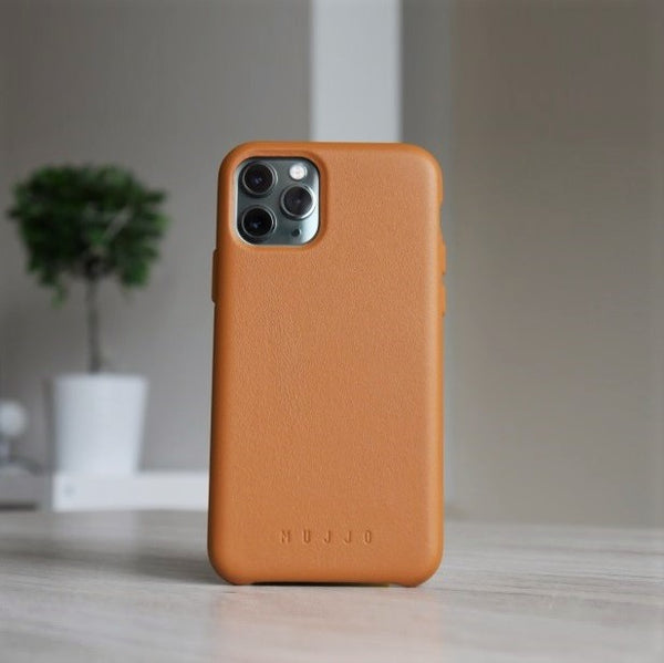 Full Leather Case for iPhone 11 Pro - Tan