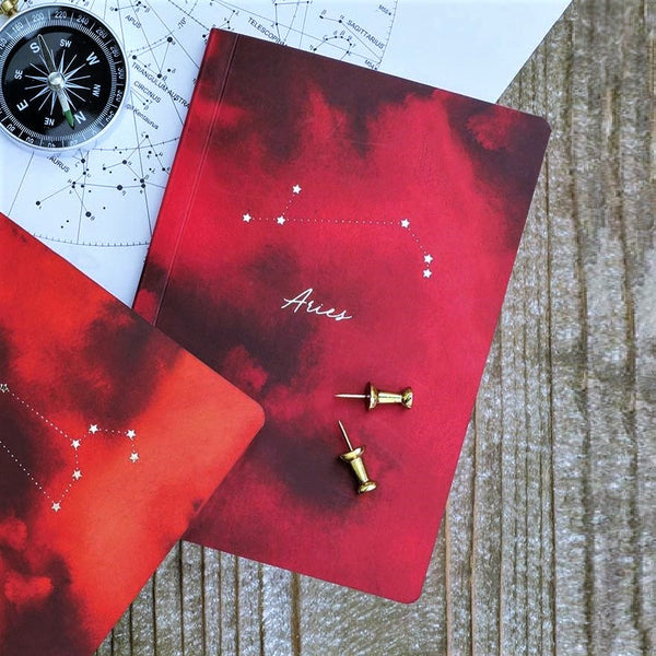 Constellations Mini Notebook - Aries