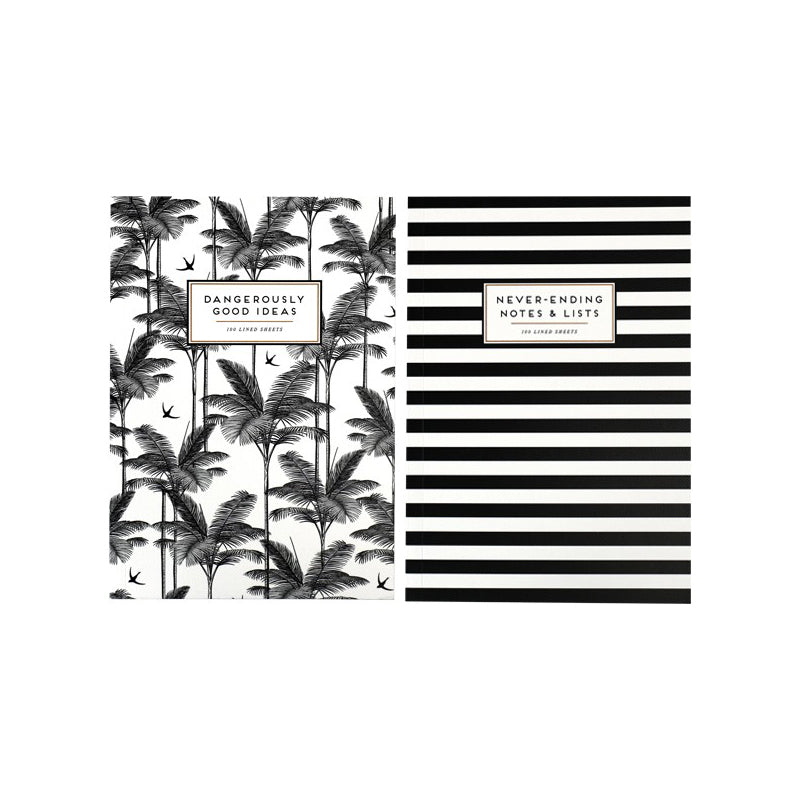 Alice and Scott Set of 2 Notebooks