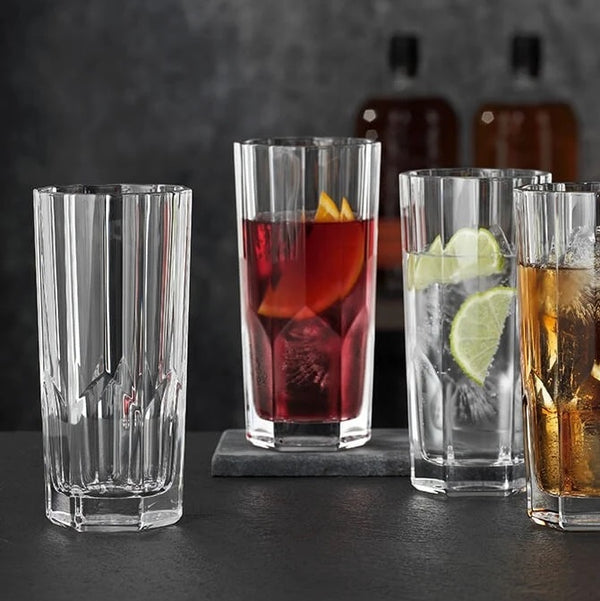 Aspen Long Drink Tumblers, Set of 6