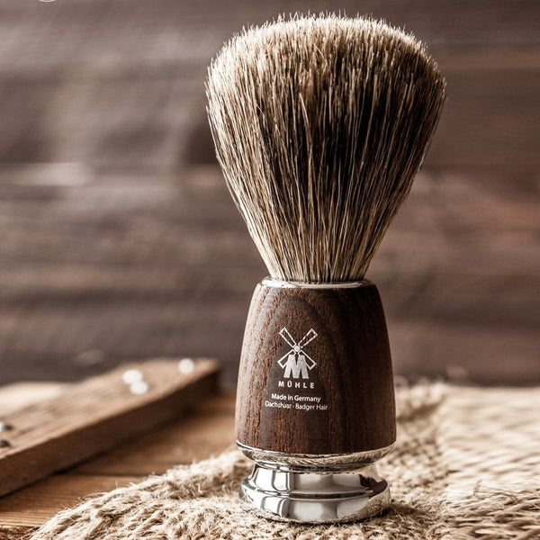 Rytmo Badger Shaving Brush - Brown