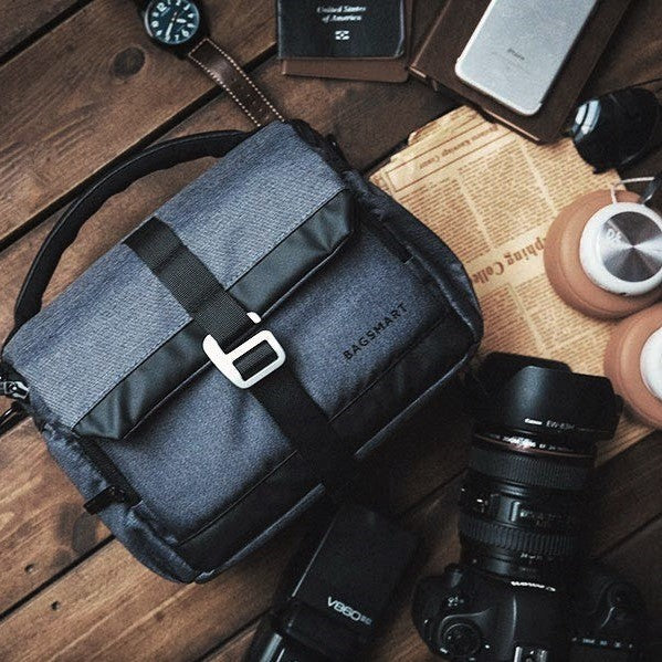 DSLR Camera Bag - Heather Black