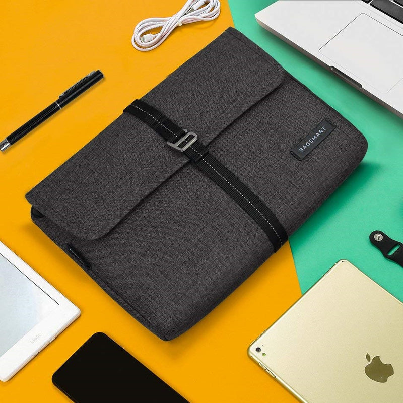 Laptop Sleeve - Heather Black