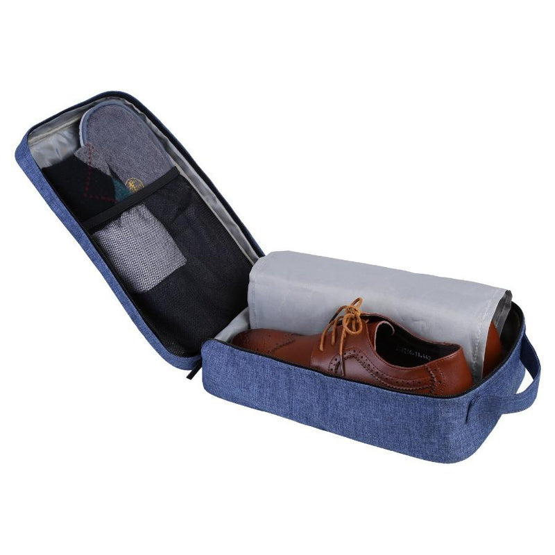 Belmont Shoe Organizer - Heather Blue
