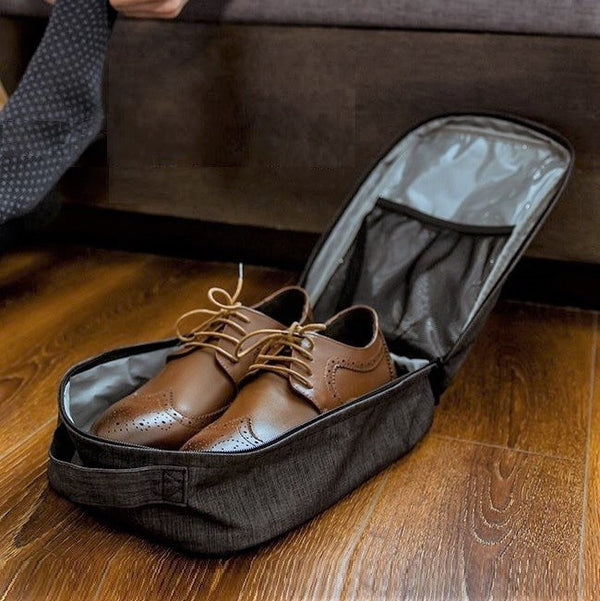 Belmont Shoe Organizer - Heather Black