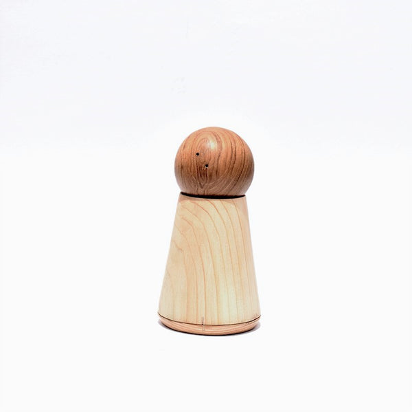 Wooden Ball Salt and Pepper Set