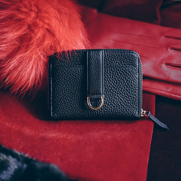 Belgravia Zip Wallet - Black