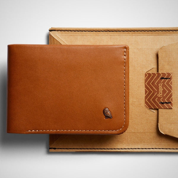 Hide and Seek Wallet - Caramel RFID